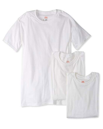 Hanes Superior Softness Crewneck Undershirts 3 Pack