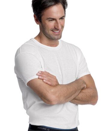 Hanes Men's ComfortBlend Crew Undershirt 3 Pack