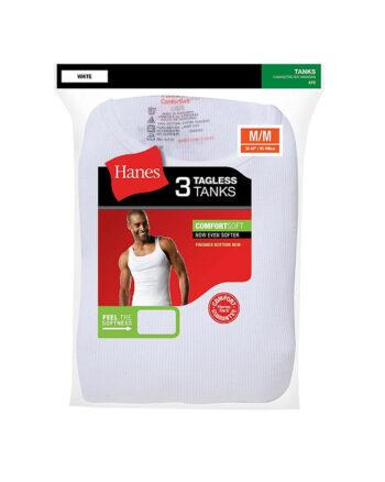 Hanes Men's Tank Undershirts 3Pack