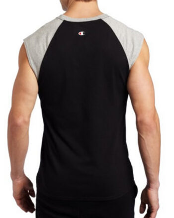Champion USA Men's Jersey Raglan Cap-Sleeve T Shirt