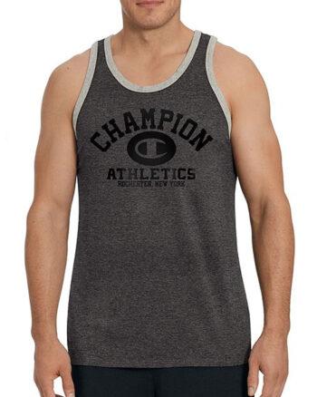 Champion USA Men's Ringer Tank, Homebase Graphic