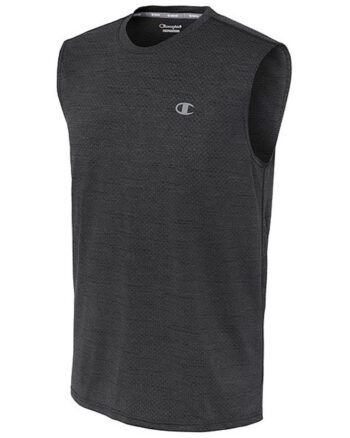 Champion USA Men's Double Dry® Mesh Texture Muscle Tee