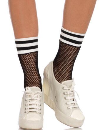 Fishnet Athletic Anklets