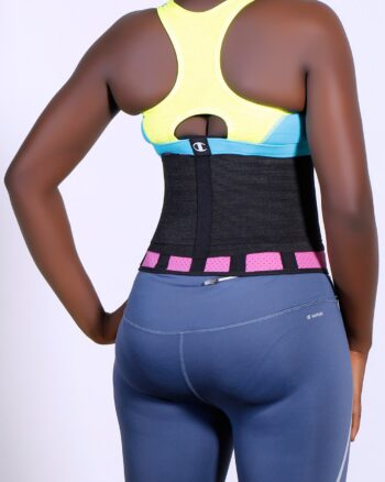BE Active Latex Adjustable Fitness Belt, Size Small