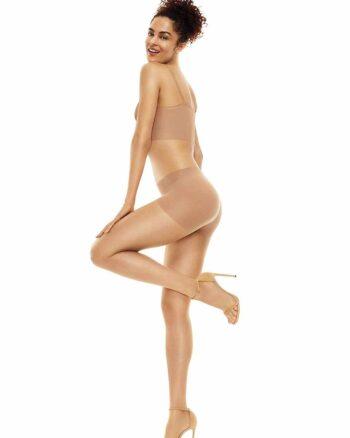 Hanes Perfect Nude Tummy Control Tights, Beige/Nude 3