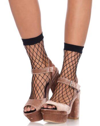 Black Diamond Net Anklets