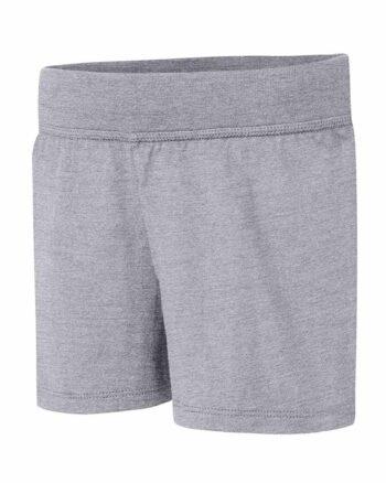 Hanes Grey Girls' Jersey Short