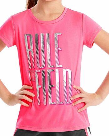 Hanes Sport™ Girls' Speed Dash Performance Tee