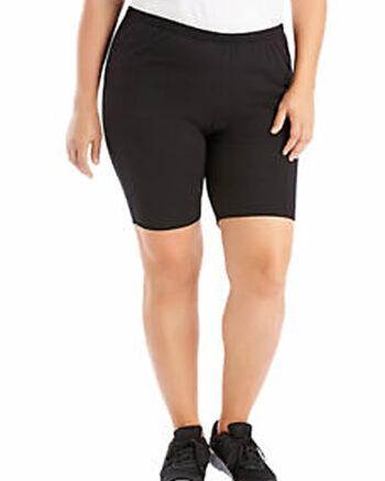 Just My SIze Stretch Cotton Jersey Women's Bike Shorts