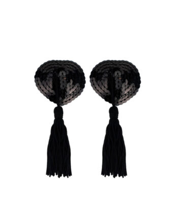 Braza Free Spirit - Tassel Petal Tops, Black