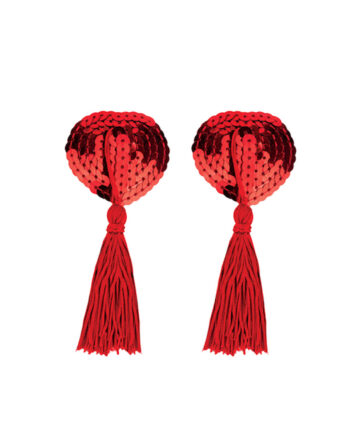 Braza Free Spirit - Tassel Petal Tops, Red