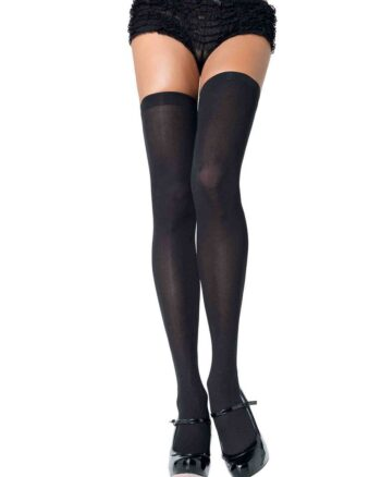 Nylon Over The Knee Thigh Highs
