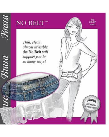 Braza 'No Belt' Clear Adjustable Belt
