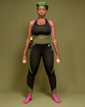 BE Active Core Training Set, Green//Black