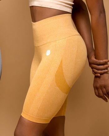 BE Active Epic Training Bike Shorts, Yellow